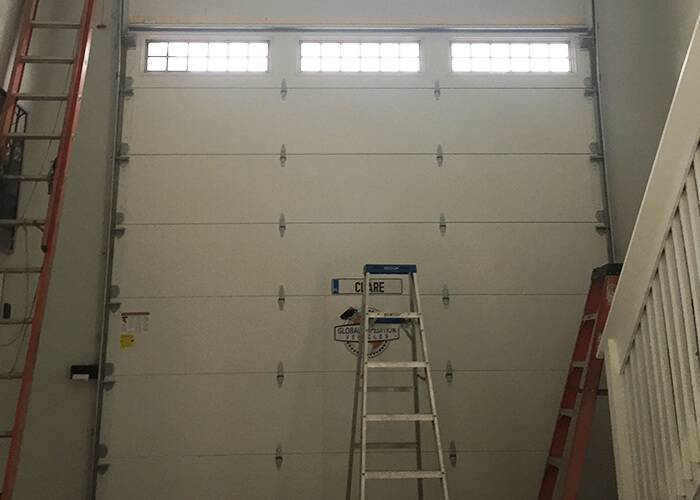 Amarr Garage Doors, 9' x 7', Stratford, True White