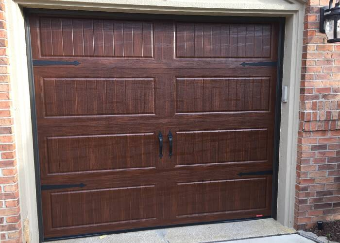 Standard+, 8' x 7', North Hatley LP, American Walnut, with decorative hardware